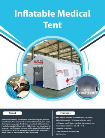 Inflatable-Medical-Tent-Large